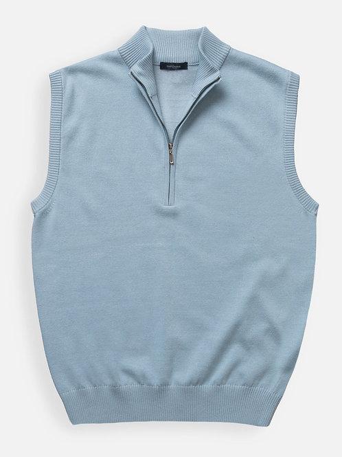 Turtleson Sweater Vest, Pearl