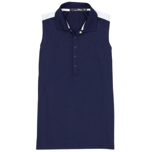 RLX Golf - Women's Sleeveless Side Stripe Tech Pique Polo