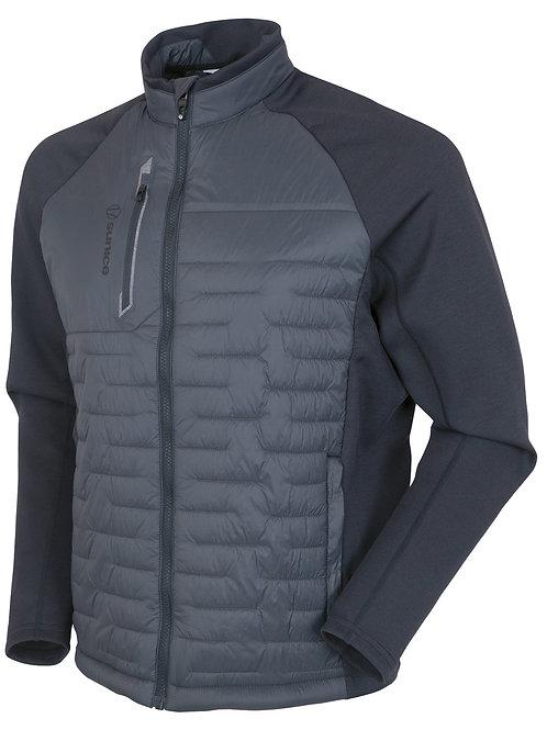 Sunice - Men Hamilton Thermal Hybrid Jacket - Charcoal/Charcoal Melange