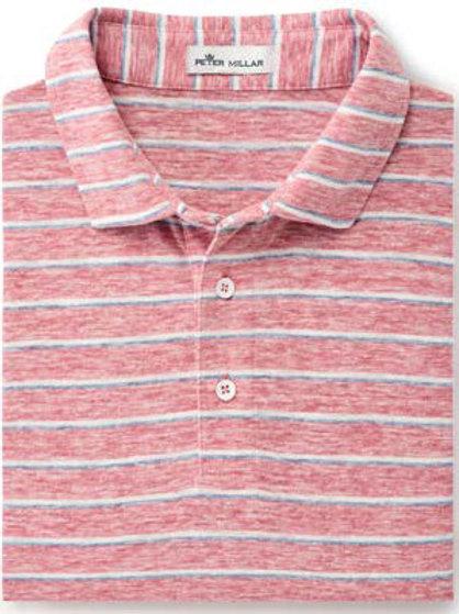 Peter Millar - Seaside Albemarle Striped Slub Polo