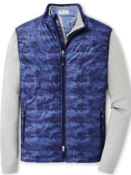 Peter Millar - Hyperlight Camo Vest - Blue Lapis