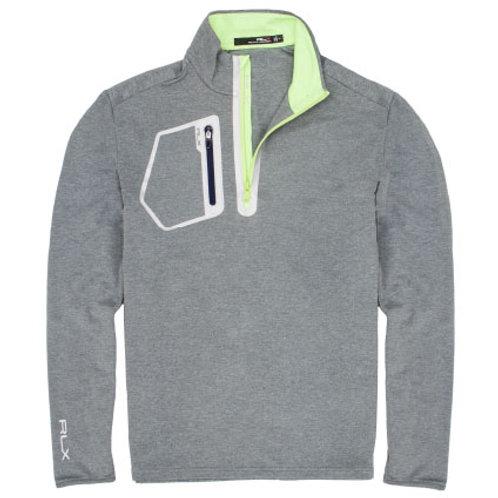RLX Golf - Men's RLX Driver Half Zip Pullover - Light Grey Heather
