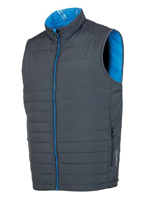 Sunice - Men Michael Reversible Vest - Charcoal/Vibrant Blue