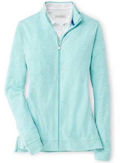 Peter Millar - Women's - Crown Comfort Interlock Full Zip Jacket - Topaz