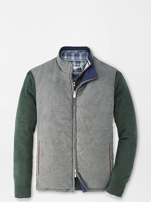 Peter Millar Reversible Vest, Charcoal