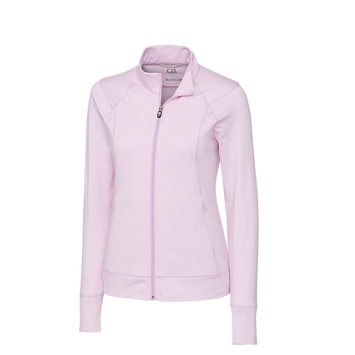 Cutter&Buck Shoreline Full Zip Pink