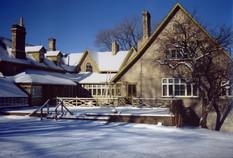 Boyd house in winter