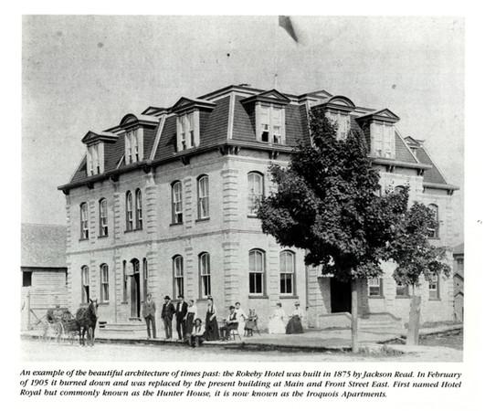 Rokeby Hotel built 1875