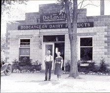 Lee's Creamery (Mr Lee and wife Suzie), on location of Post Office