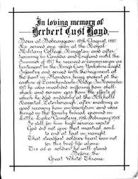 H.C. Boyd memorial text