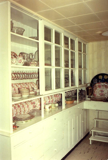 Pantry and summer kitchen