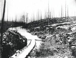 Haliburton timber slide 1880's