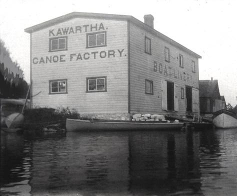 Kawartha Canoe factory
