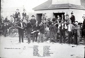 Bobcaygeon fire company circa 1900