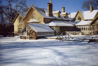 M. Boyd house in winter