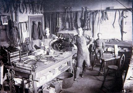 Russel Thurston harness shop (Bigley Shoe location)