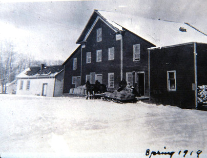 Grist mill spring 1919