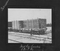 Aug15 1904 to J.C.Scott Co. Toronto Lumber leaving Bobcaygeon