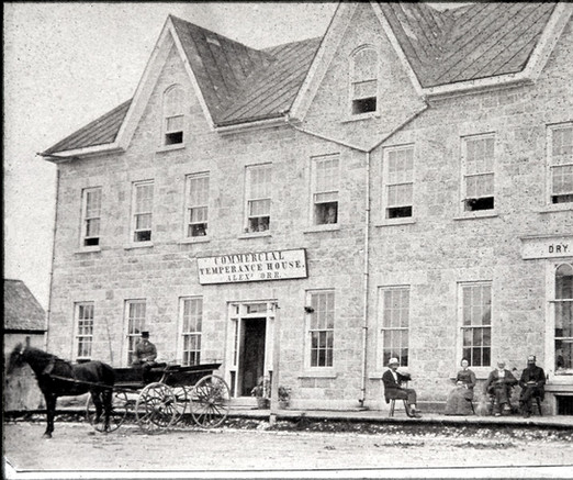 Alexander Orr Building, Temperance Hotel and dry goods store