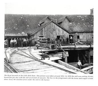 Boyd Saw Mill circa 1893
