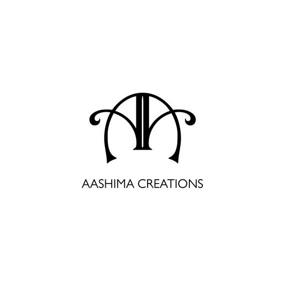 Logo design Aashima Creations