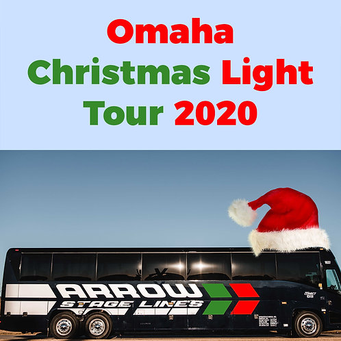 Omaha Christmas Light Tour Individual Ticket