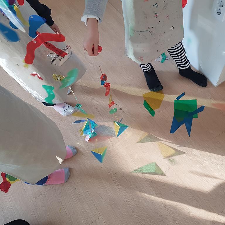 모빌+빛 놀이 Light Play