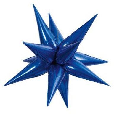 """Balloon Foil 28"""" Star Blue"""