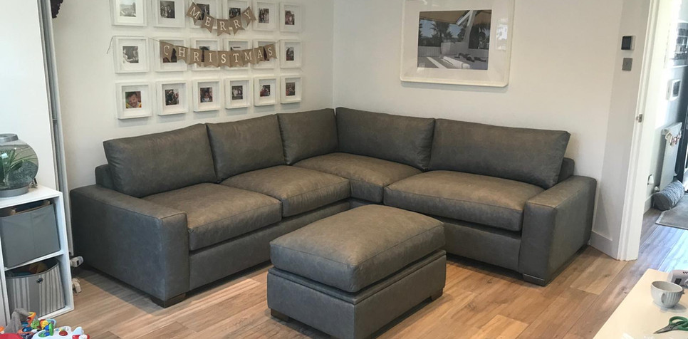 Zara Corner Sofa (65) swipe/use arrows to change image
