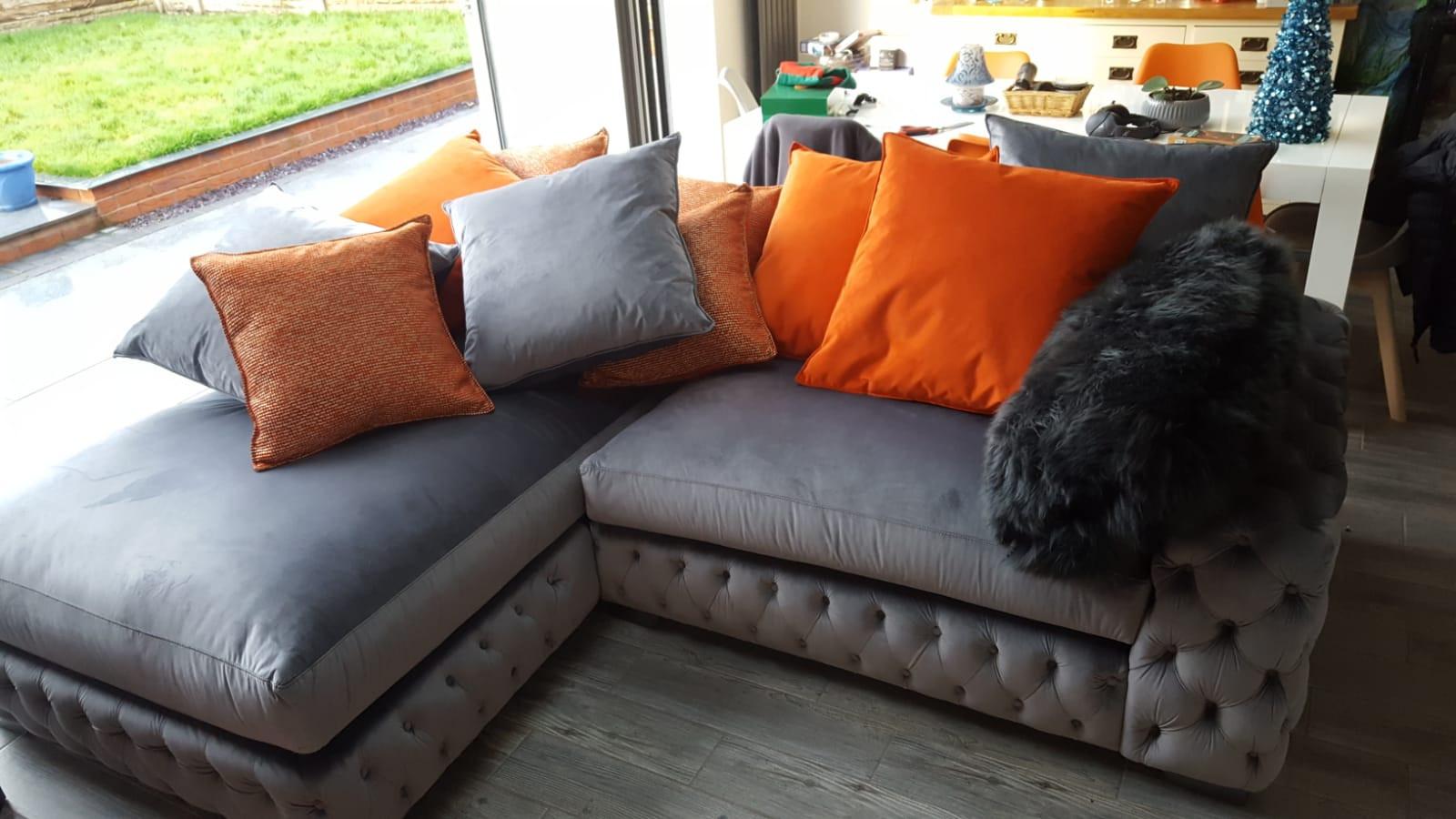 Mercury Corner Sofa (58) swipe/use arrows to change image
