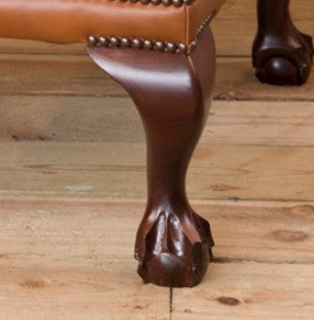 Carved Ball and Claw Leg