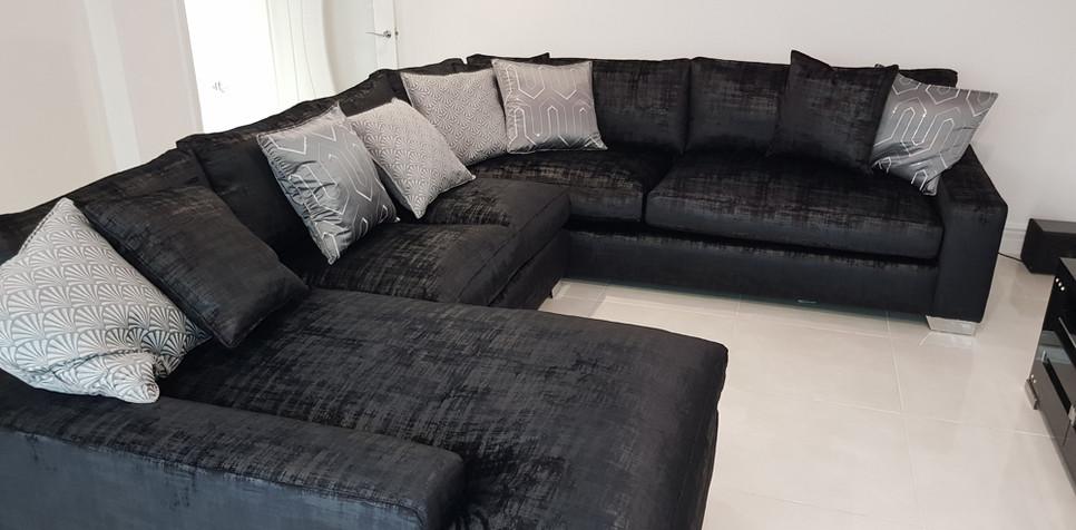 Zara Corner Sofa (39) swipe/use arrows to change image