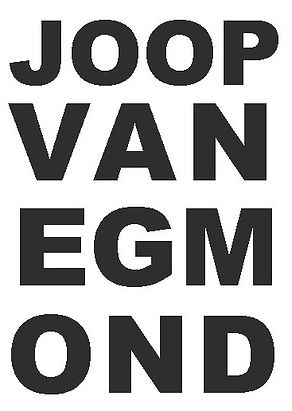 Joop van Egmond MOND