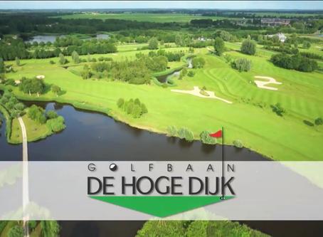Mond op golfbaan De Hoge Dijk