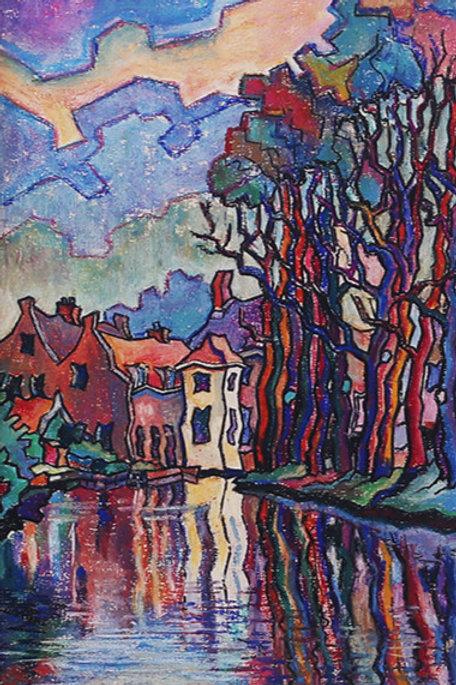 Oude Rijn, Katwijk (bij de Wilbert)