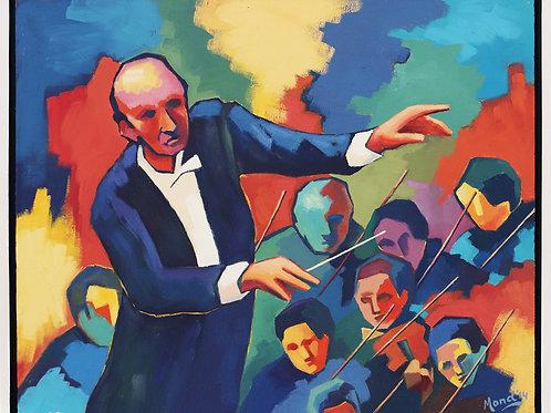 De dirigent (Voorstudie)