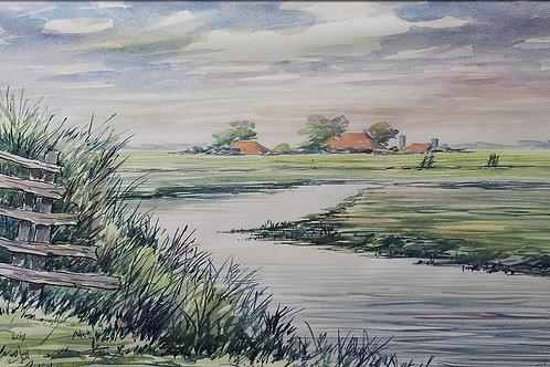 Omgeving Abbega, Friesland