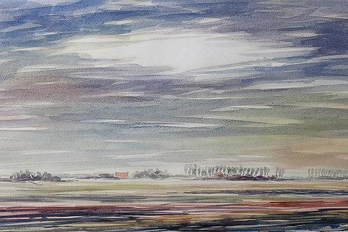 De Munte, omgeving Oostburg, Zeeuws-Vlaanderen
