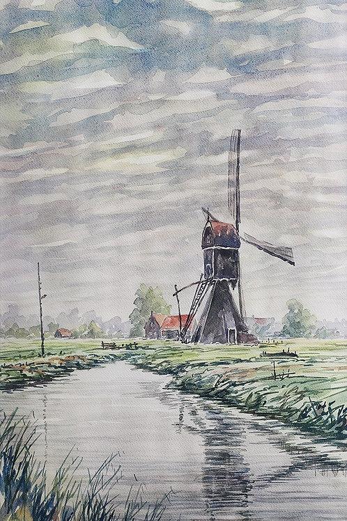 De Vlist, omgeving Schoonhoven