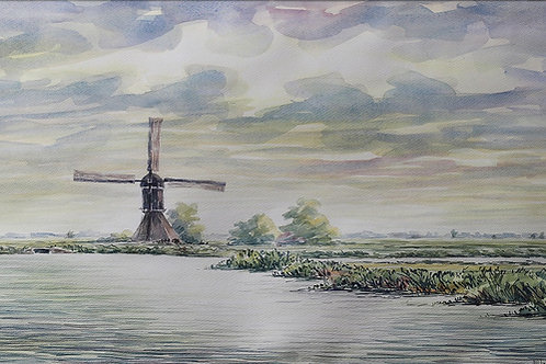 Alblasserwaard, Zuid-Holland, The Netherlands