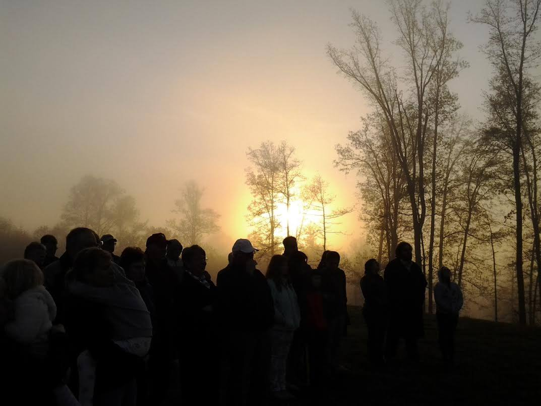 Sunrise Service @ Field of Dreams