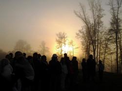 Sunrise Service @ Field of Dreams