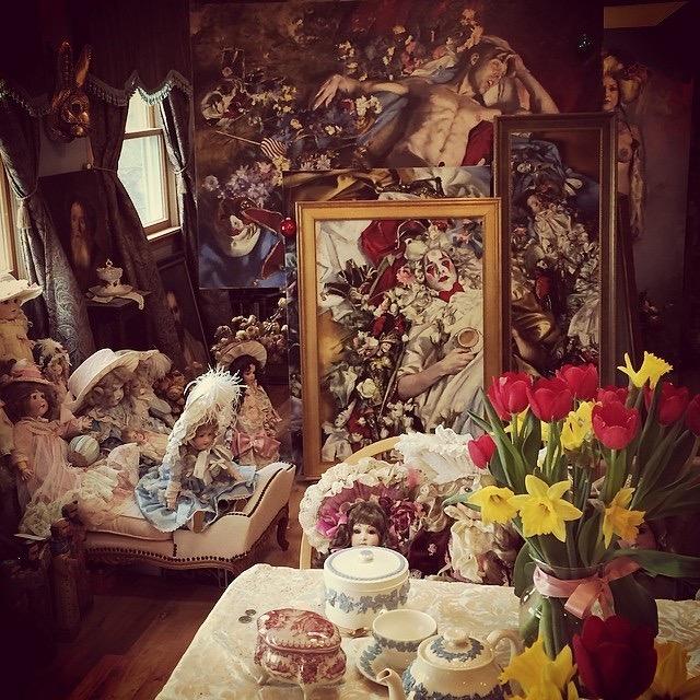 Inside Teresa's Studio