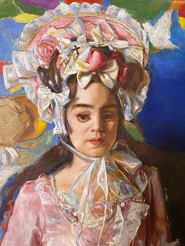 Painting Demonstration (Teresa's Self Portrait) & Studio Tour- May 2nd