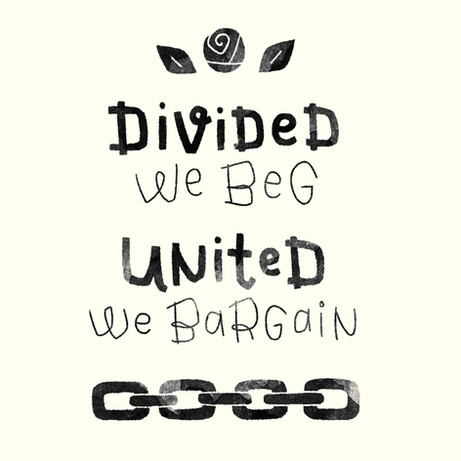 Divided We Beg, United We Bargain