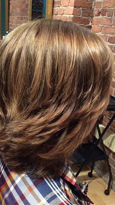 This short hair cut looks great! #hairov