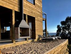 Casa PC21 terraza al mar y fogon