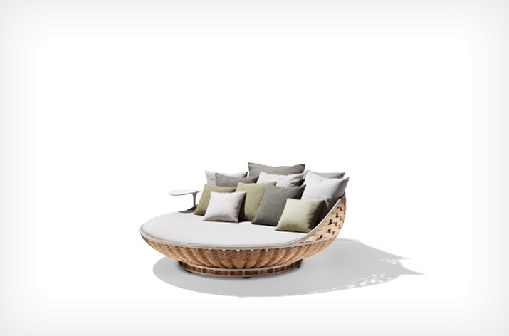 Daybed Swingrest con base de Dedon