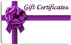 Lility massage gift certificates