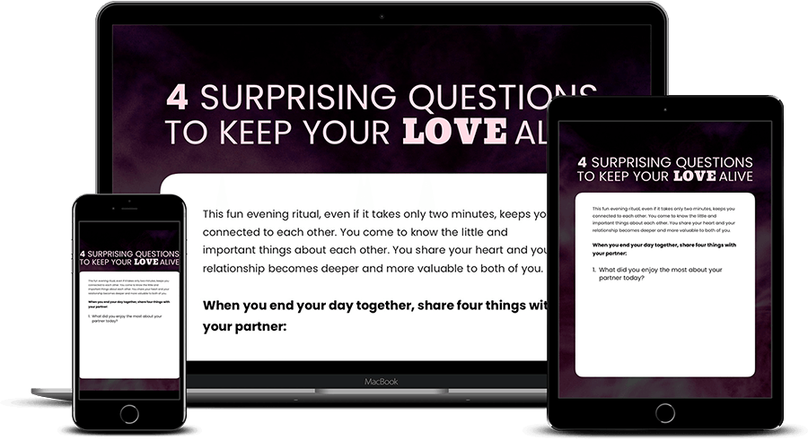 4 Surprising Questions to Keep Your Love Alive